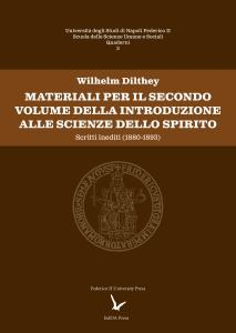 Cover for Drafts for Volume II of the Introduction to the Human Sciences: Unpublished Writings (1880-1893)