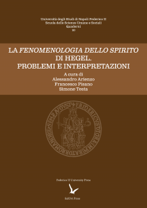 Cover for Hegel's Phenomenology of the Spirit: Problems and Interpretations