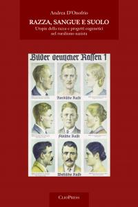 Cover for Race, blood and soil: race utopias and eugenics projects in Nazi ruralism
